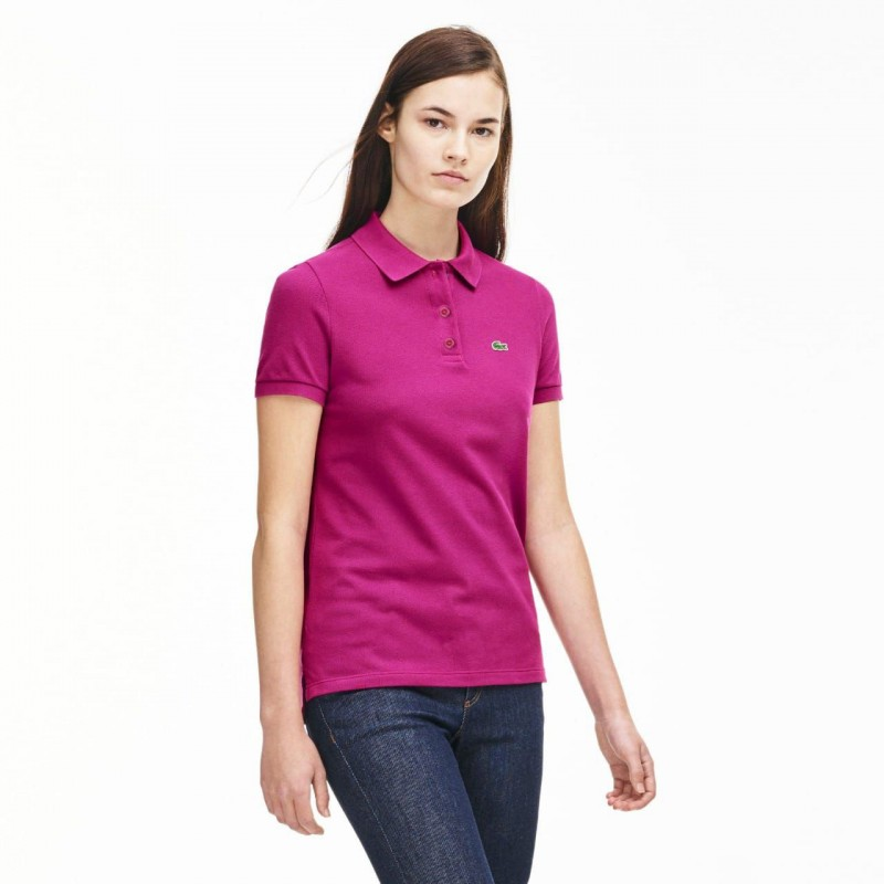 LACOSTE T-Shirt, Classic Women's Polo T-Shirt