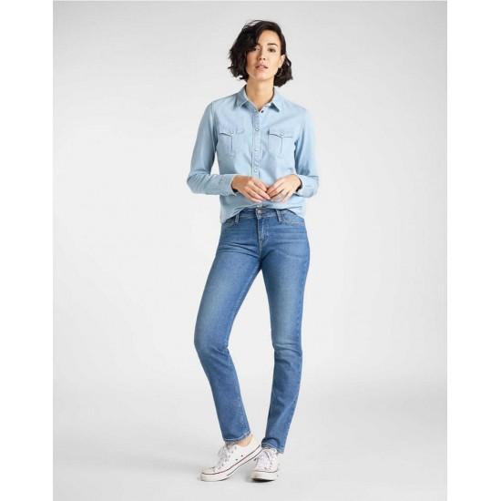 Lee Shirt, Regular Western Shirt in Summer Blue