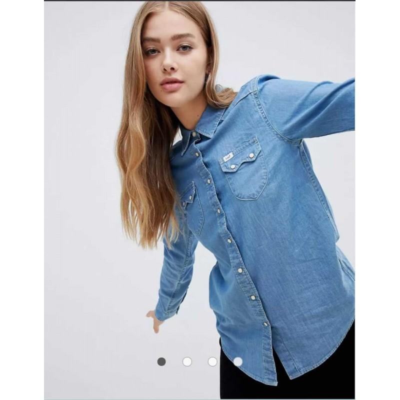 Lee Shirt,  Regular Western Denim Shirt For Women'...