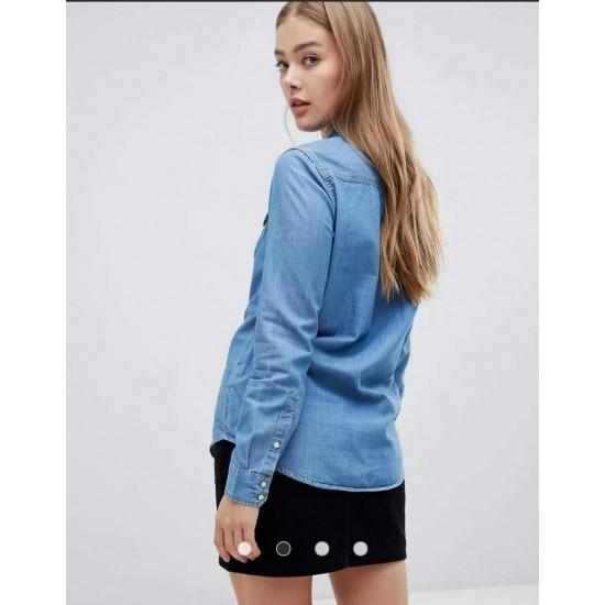 Lee Shirt,  Regular Western Denim Shirt For Women's