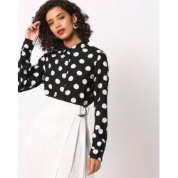 Levi's Shirt, Circular Pattern Shirt For Women's