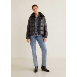 MANGO Jacket, Quilted Water Repellent Coat