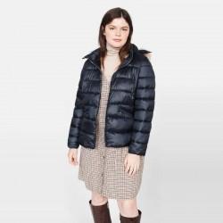 MANGO Jacket, Puffer Jacket With Detachable Hood