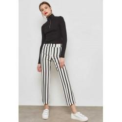 MANGO Pants, Striped Pants For Women's