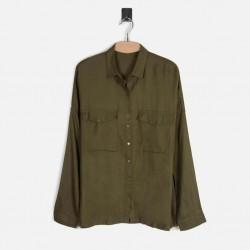 M&S- Marks & Spencer Shirt, Oversize Long Sleeves Shirt For Women's