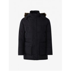 Massimo Dutti Jacket, Navy Color with Hood