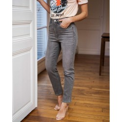 NVY PARIS, High Rise Ankle Length Jeans