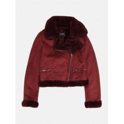PULL&BEAR Jacket, Comfy and Warm Sheepskin Coat