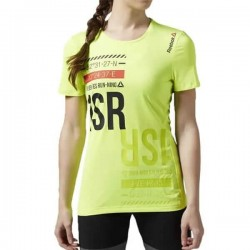 Reebok T-Shirt, Women's Reflective Crossfit Racing Shirt