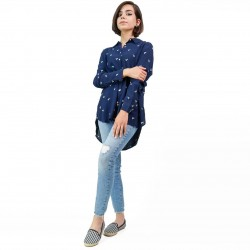 SPRINGFIELD Shirt, with Modern Plaid For Women's