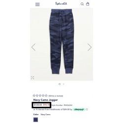 Splendid Pants, Women's Jogger Sweatpants Drawstring Jogger