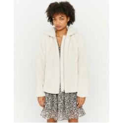 TALLY WEiJL Jacket, Zippered Jacket with Hood