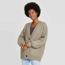 Universal Thread Cardigan, Women's Oversize Button-Front Cardigan