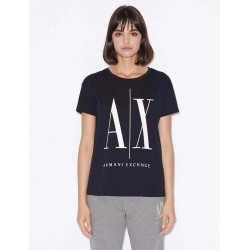 ARMANI EXCHANGE T-Shirt With Print For Women's