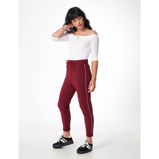 Jennyfer Pants, trousers Flexible and comfortable With a white streak