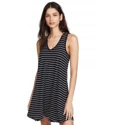 M&S- Marks & Spencer Dress, Navy Blue Short Striped Dress