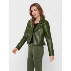ONLY Jacket, Biker Leather Jacket