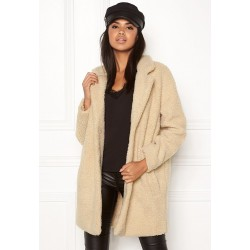ONLY Coat, Faux Sherpa with 2 Pockets