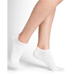 Socks, Set of 3 Pairs Women's Cotton Low-Cut Socks, one size 35-38