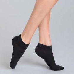 Socks, Set of 3 Pairs Women's Cotton Low-Cut Socks, One Size