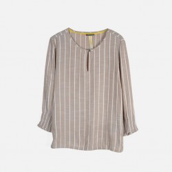 Street One Shirt, with Modern Striped For Women's
