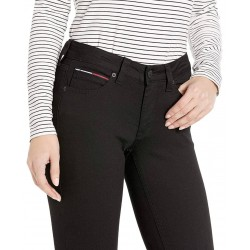 Tommy Hilfiger Pants, Women's Straight Leg, Mid Rise Pants