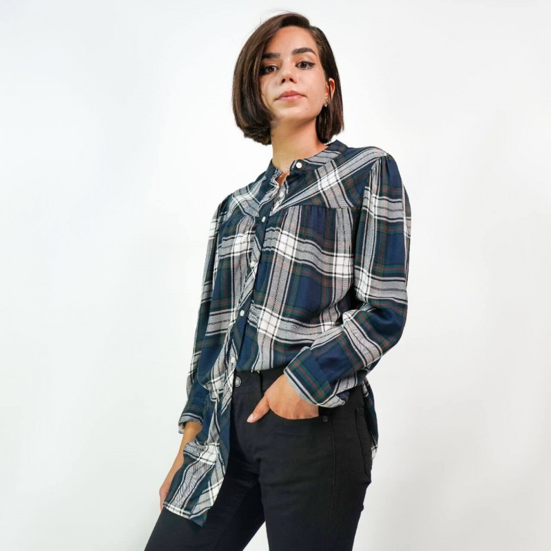 Tommy Hilfiger Shirt, Checked with Long Sleeves Fo...