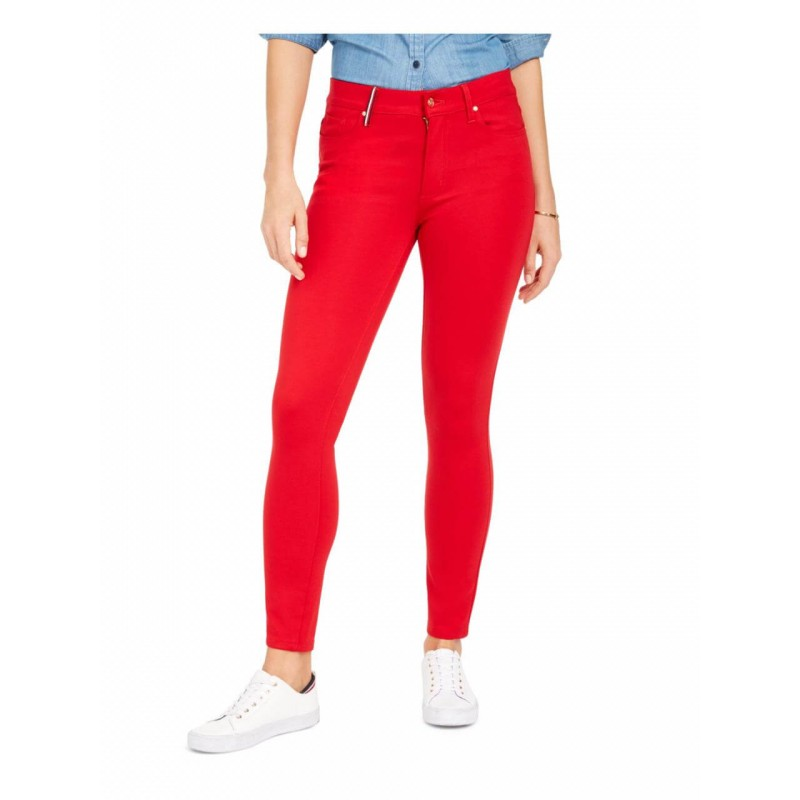Tommy Hilfiger Pants, Regular Fit Red Pants