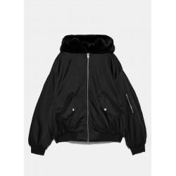 ZARA Jacket, Women's Double Face Puffer Jacket