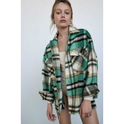 ZARA Overshirt, Casual Winter Overshirt For Women's