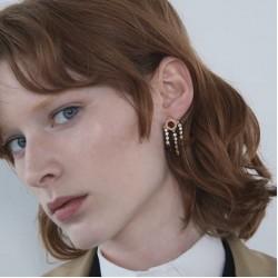 ZARA Earrings, Shiny Chain Earrings